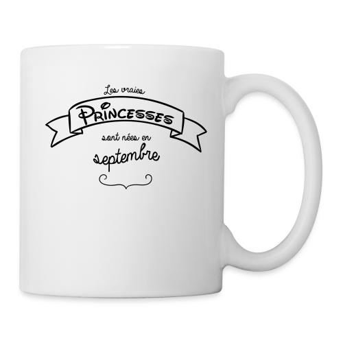 Princesse de septembre - Mug blanc