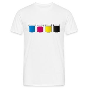 CMYK - T-skjorte for menn