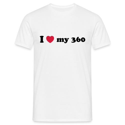 I Love my 360 - Men's T-Shirt