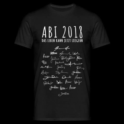 ABISHIRT ENTWURF 01 - Männer T-Shirt