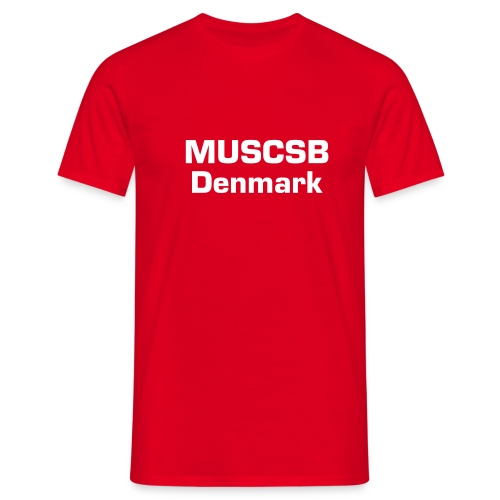 MUSCSB - Herre-T-shirt