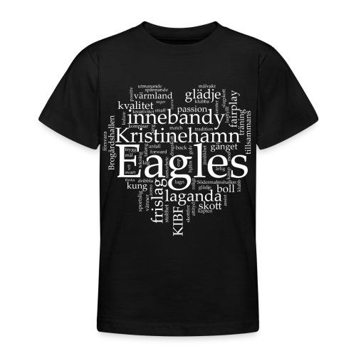 Eagles Svart T-shirt Ungdom - T-shirt tonåring