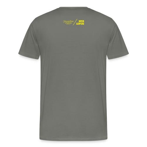 T-Shirt Männer Oper Leipzig - Männer Premium T-Shirt