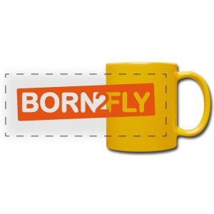 Born2Fly - Panoramatasse farbig
