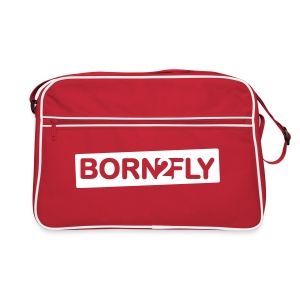 Born2Fly - Retro Tasche