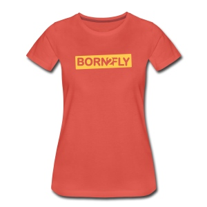 Born2Fly - Frauen Premium T-Shirt