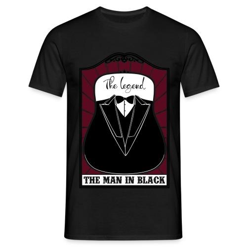 Man in black - Mannen T-shirt