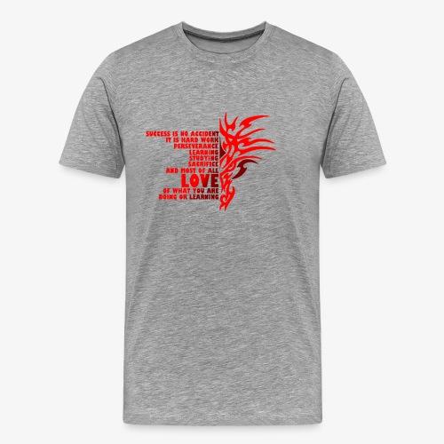 Men Success Short Sleeve T-Shirt - Men's Premium T-Shirt