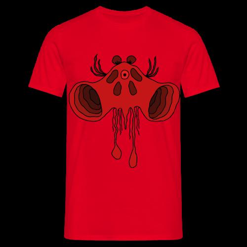 Röd - T-shirt herr