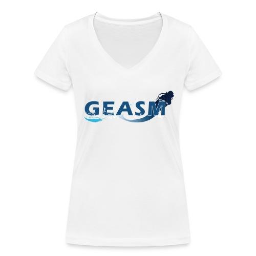 T-Shirt Femme GEASM - T-shirt bio col V Stanley & Stella Femme