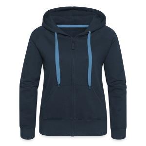 Sweat-Zip Femme GEASM - Veste à capuche Premium Femme