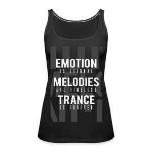 TFB | Emotion-Melody-Trance - Women's Premium Tank Top