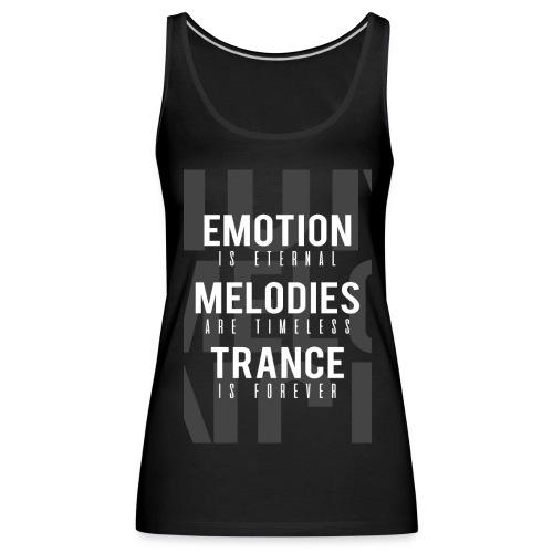 TFB | Emotion-Melody-Trance - Women's Premium Tank Top
