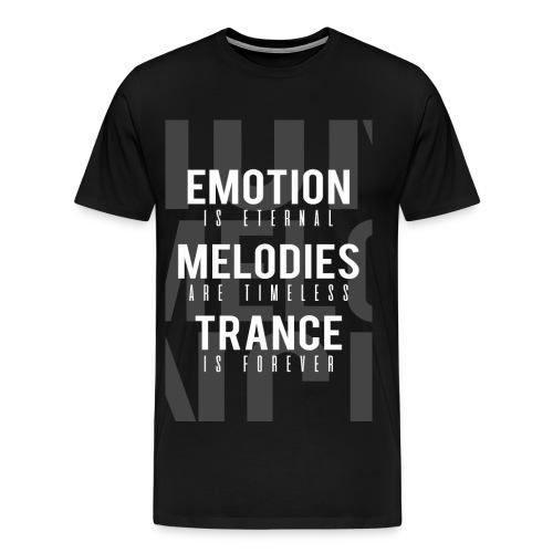 TFB | Emotion-Melody-Trance - Men's Premium T-Shirt