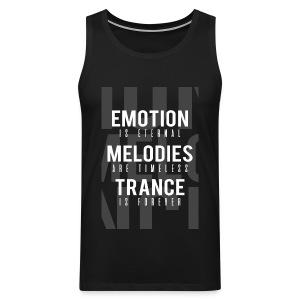 TFB | Emotion-Melody-Trance - Men's Premium Tank Top
