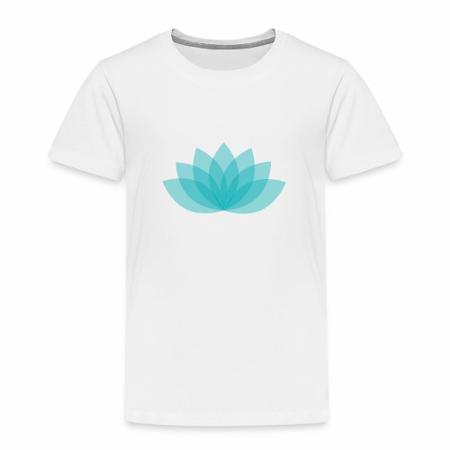 Children premium shirt - Lotus - White shirt, digital direct print - Kinder Premium T-Shirt