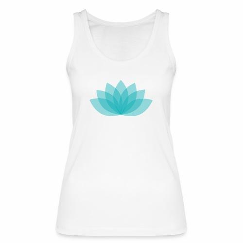 Women's Bio Tank Top Stanley & Stella  - Lotus - White shirt, digital direct print - Frauen Bio Tank Top von Stanley & Stella
