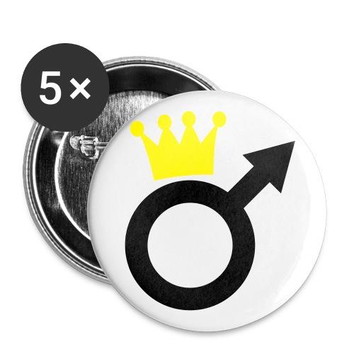humour - Lot de 5 grands badges (56 mm)