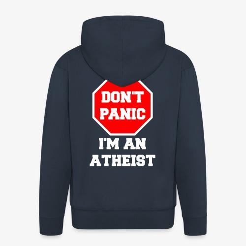 Männer Premium Kapuzenjacke Atheist - Männer Premium Kapuzenjacke