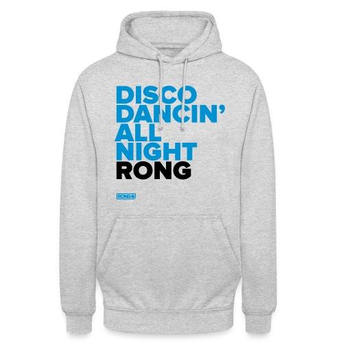 Disco Dancin' All Night Rong (Grey Unisex Hoodie) - Unisex Hoodie