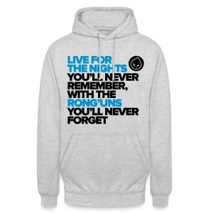 Live For The Nights (Grey Unisex Hoodie) - Unisex Hoodie