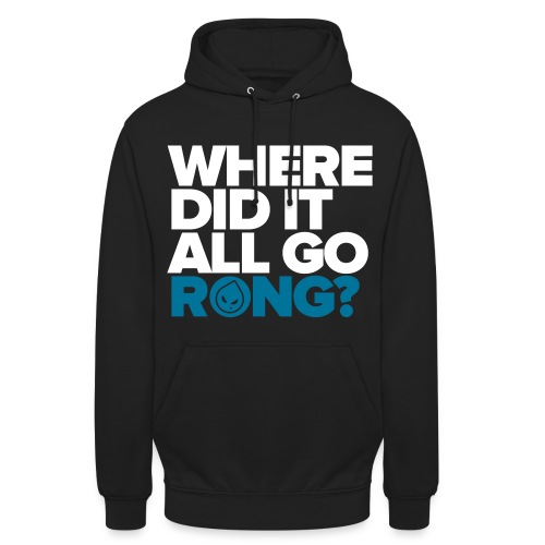 Where Did It All Go Rong? (Black Unisex Hoodie) - Unisex Hoodie