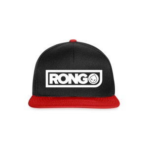 Rong Black & Red Snapback Hat - Snapback Cap