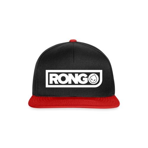 Rong Black & Red Snapback Hat - Snapback Cap