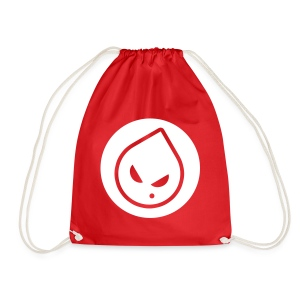 Rong Red Drawstring Bag - Drawstring Bag