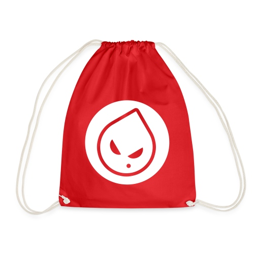 Rong Red Drawstring Bag - Drawstring Bag