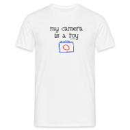 Tee shirts ~ Tee shirt Homme ~ My camera is a toy