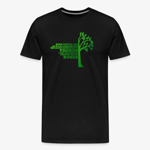 Male Roses Short Sleeve T-Shirt - Men's Premium T-Shirt