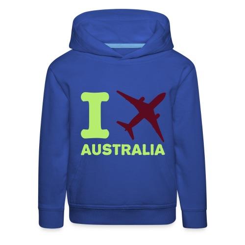 felpa viaggiatore - Felpa con cappuccio Premium per bambini