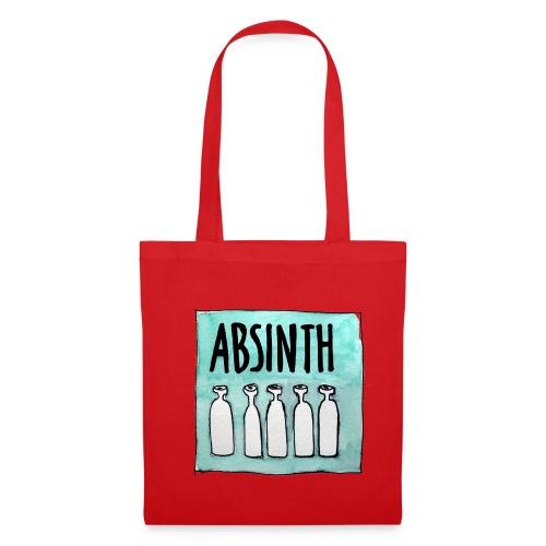 absinth - stoffbeutel - Stoffbeutel