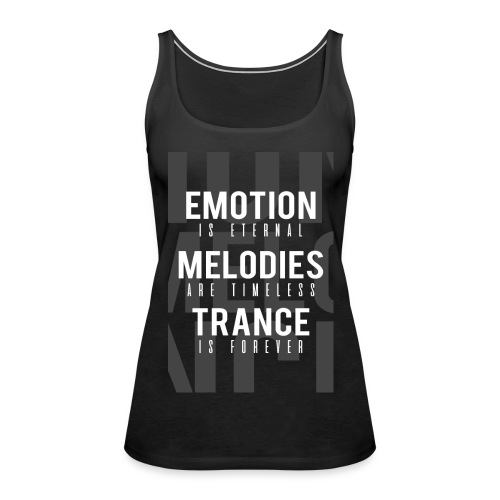 TF-Global | Emotion-melody-trance - Women's Premium Tank Top