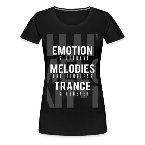 TF-Global | Emotion-melody-trance - Women's Premium T-Shirt
