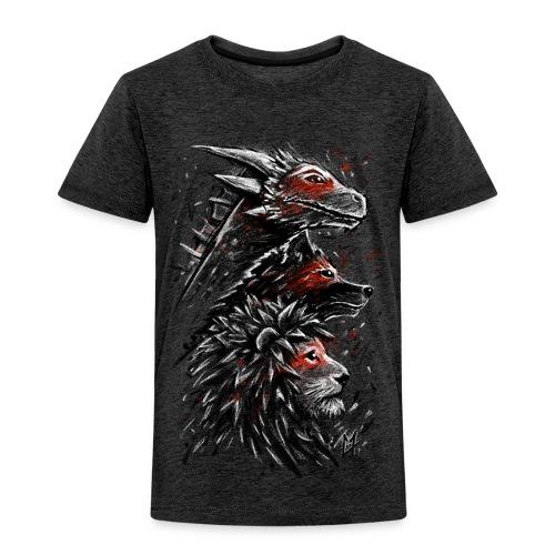 Dragon Wolf Lion - Kids' Premium T-Shirt