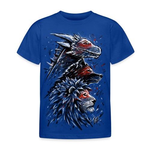 Dragon Wolf Lion - Kids' T-Shirt