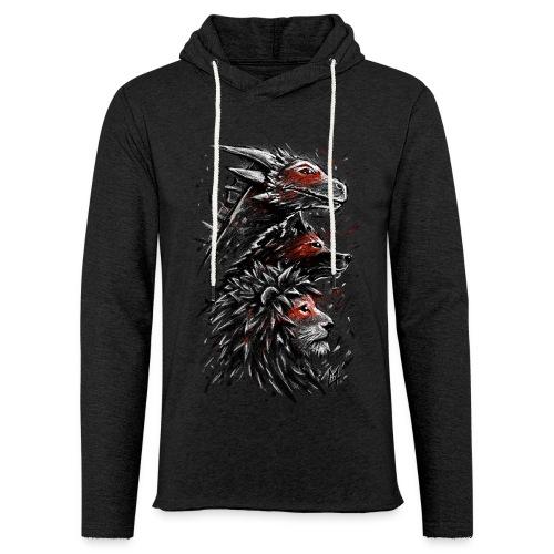 Dragon Wolf Lion - Light Unisex Sweatshirt Hoodie