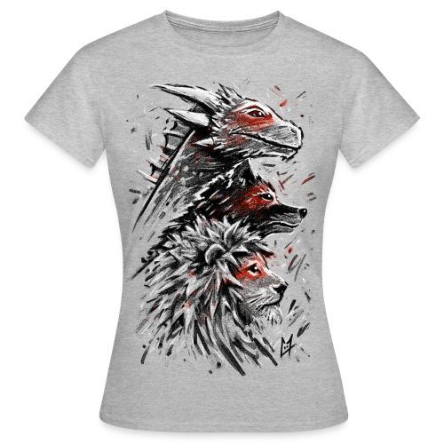 Dragon Wolf Lion - Women's T-Shirt