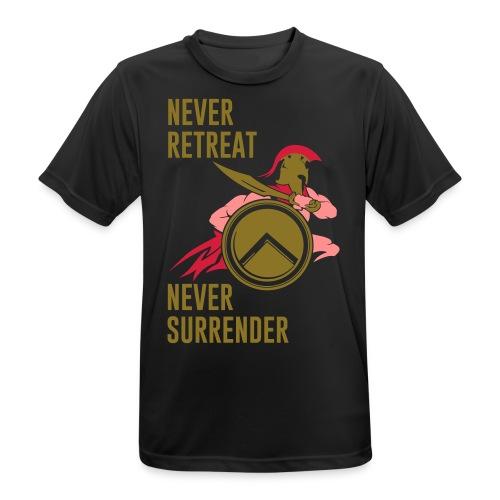 Spartansmos - mannen T-shirt ademend