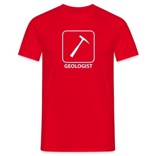 Geologist hammer - T-shirt Homme
