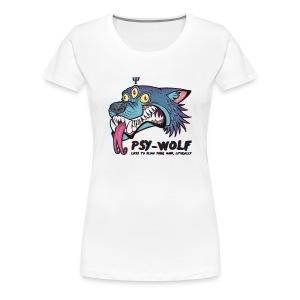 Psy-Wolf - Women's Premium T-Shirt