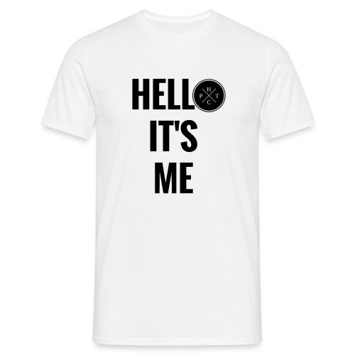 Tee-shirt HELLO IT'S ME HOMME #HTCP - T-shirt Homme