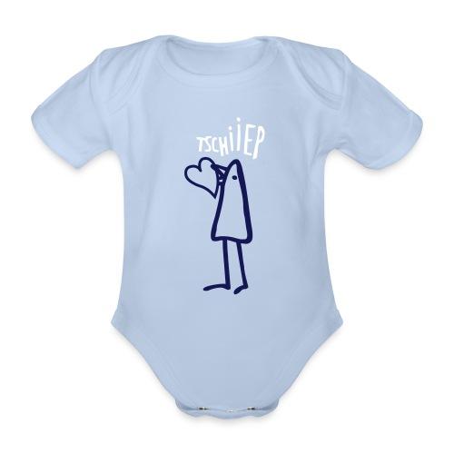 tschiiiiep - Baby Bio-Kurzarm-Body