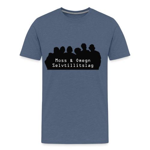 MoOSL - Premium T-skjorte for menn
