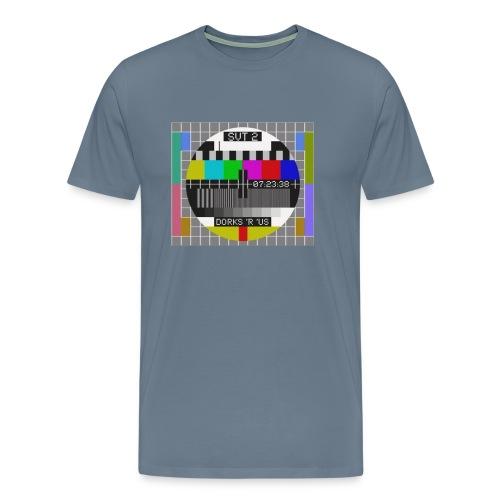 Testbilde - Premium T-skjorte for menn