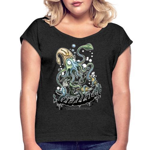 Tintling - Frauen T-Shirt mit gerollten Ärmeln