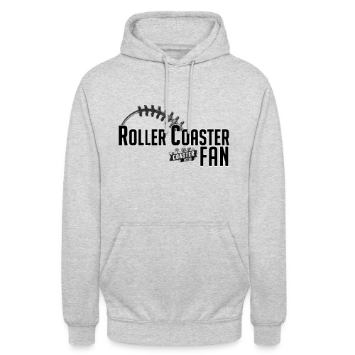 RollercoasterFAN - Sweat Capuche - Femme - Sweat-shirt à capuche unisexe