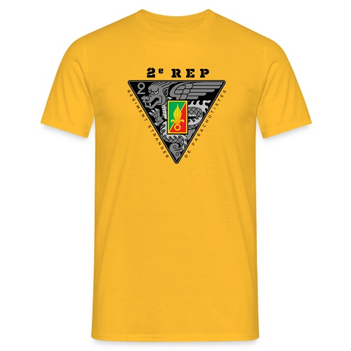 2e REP Badge - Foreign Legion - Dark - T-Shirt - Men's T-Shirt